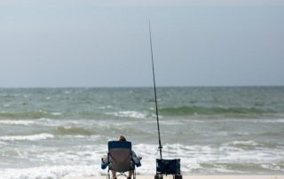 Winter Surf Fishing on Alabama Gulf Coast